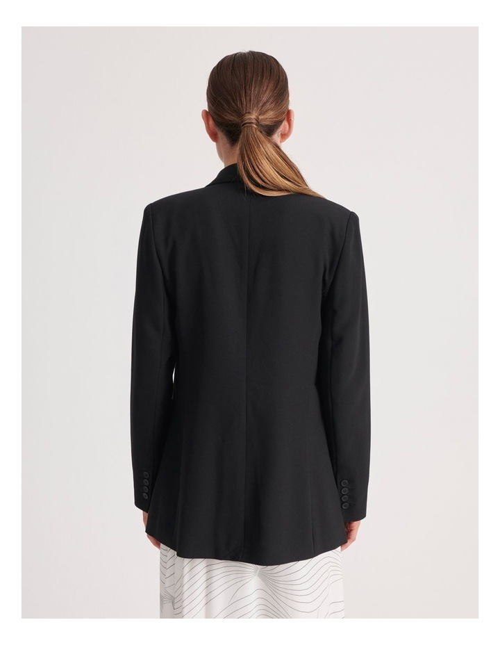 Pocket Long Line Blazer image 3