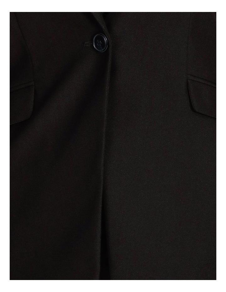 Black Single Button Suit Jacket image 6