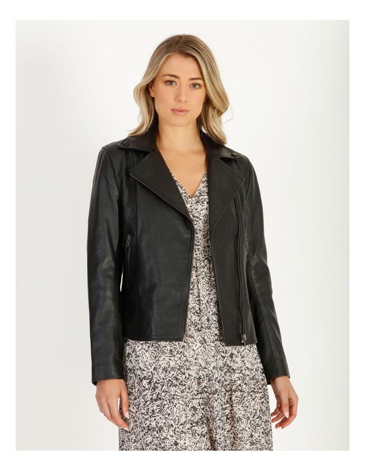 Leather Biker Jacket image 1