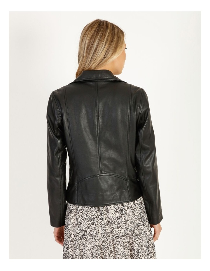 Leather Biker Jacket image 3