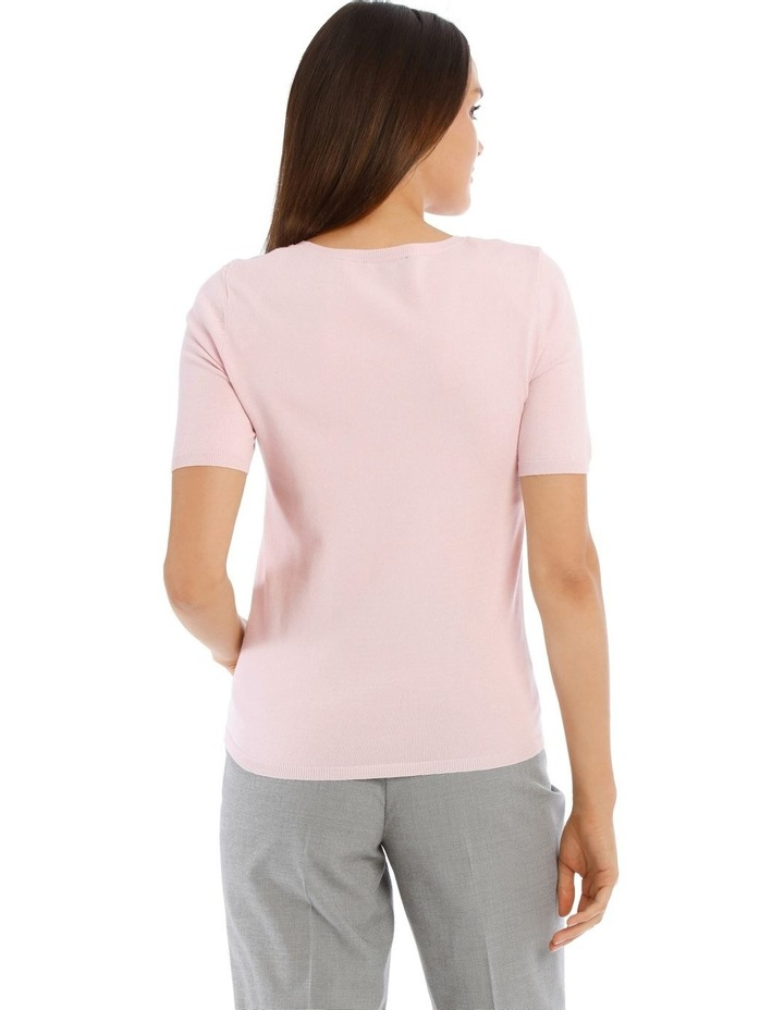 Short Sleeve Knitted Top image 3