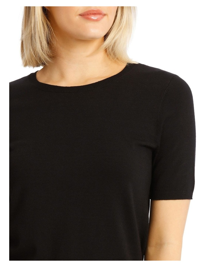 Short Sleeve Knitted Top image 4