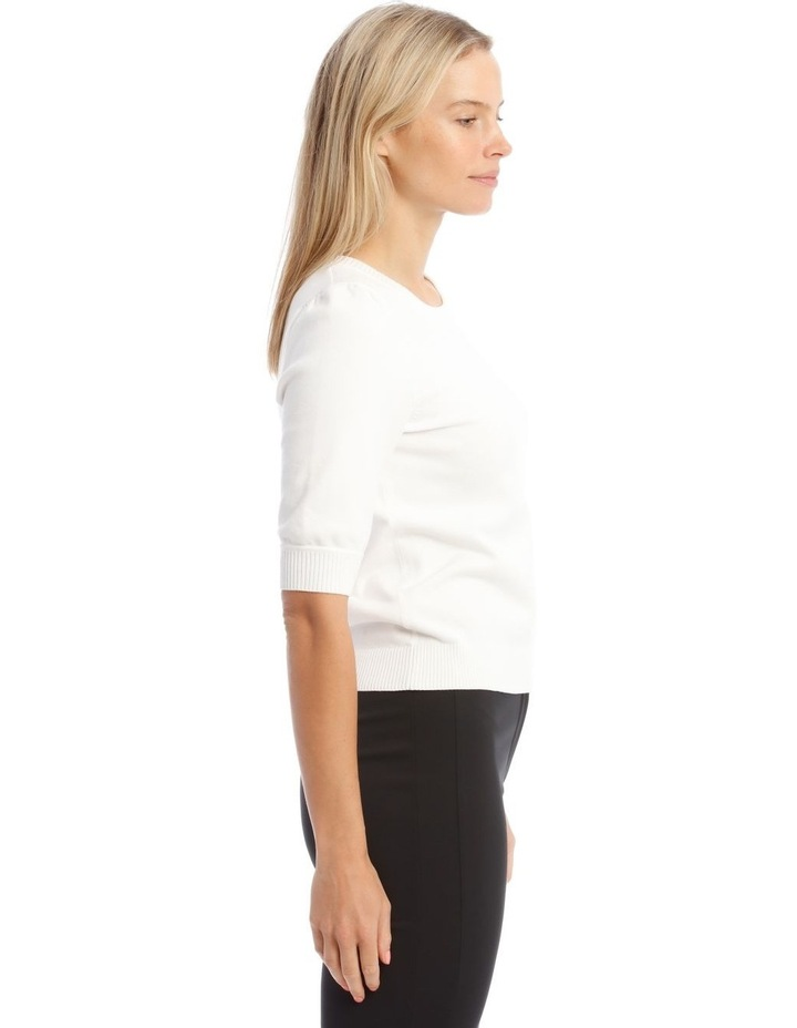 Knitted Short Sleeve Jumper image 2