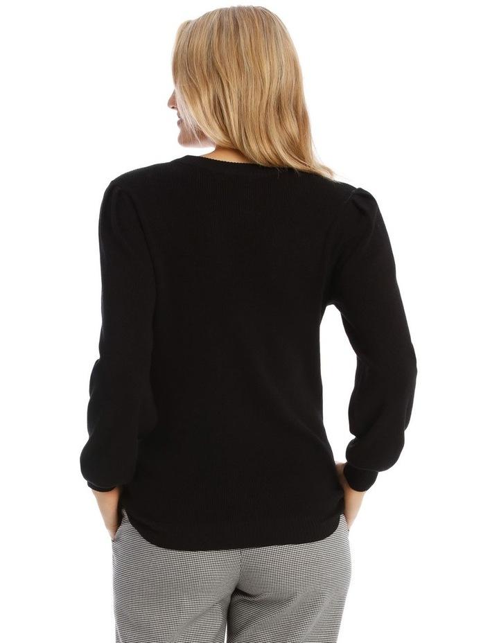 Puff Shoulder Jumper image 3
