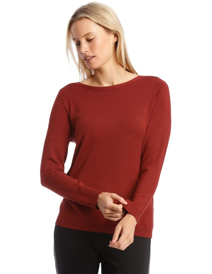 Boat Neck Jumper image 1