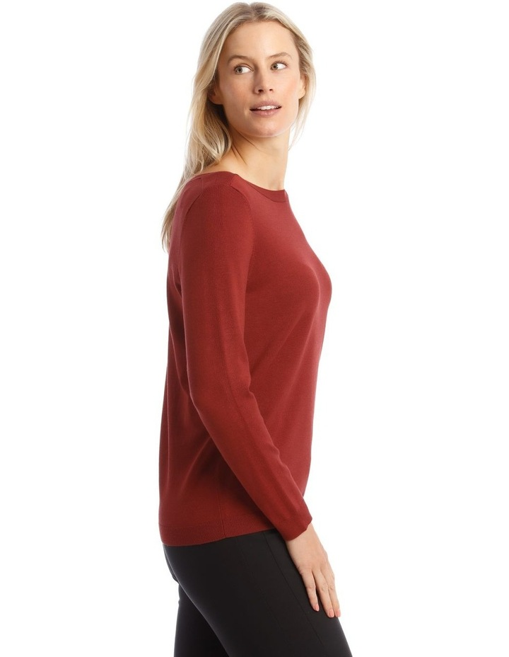 Boat Neck Jumper image 2