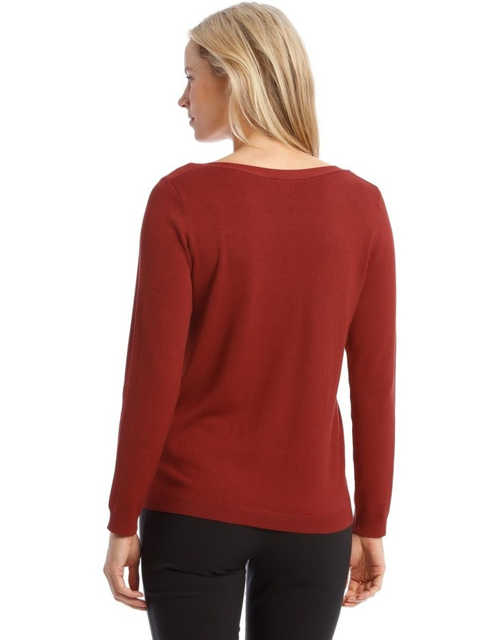 Boat Neck Jumper image 3