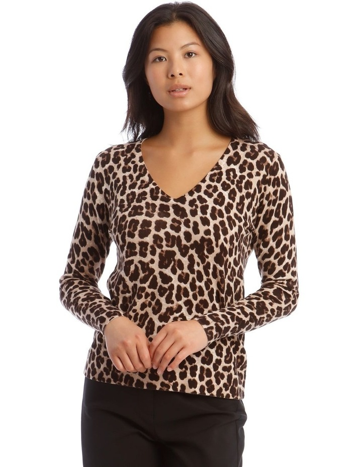 Animal Print Jumper image 1