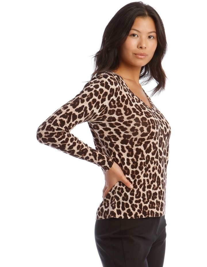 Animal Print Jumper image 2