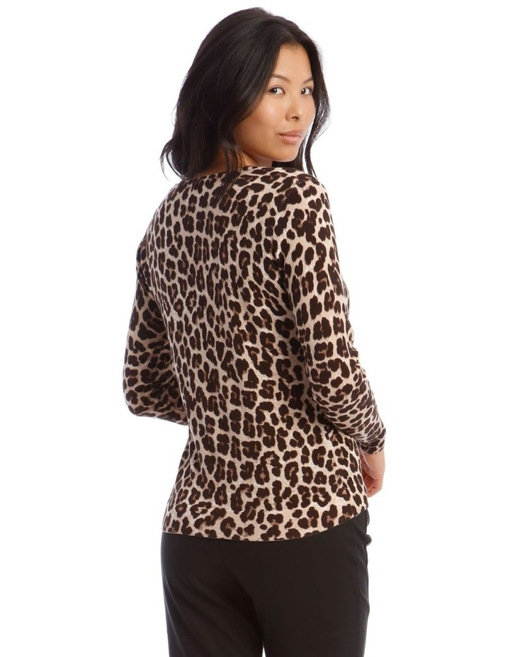 Animal Print Jumper image 3
