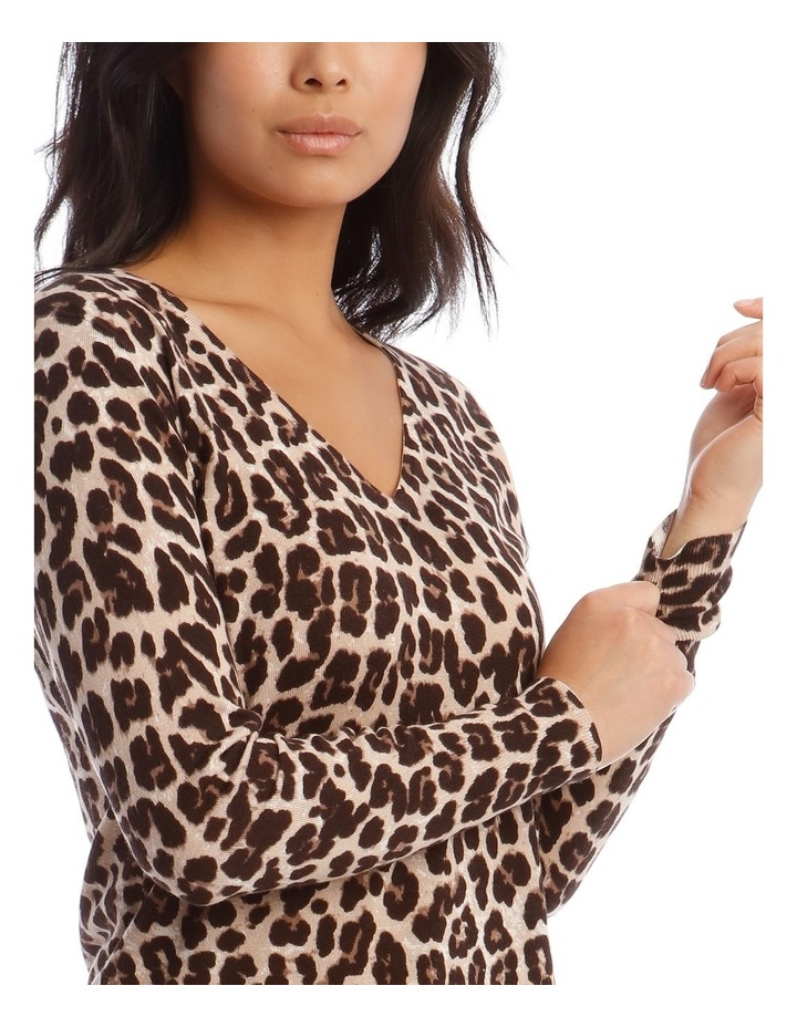 Animal Print Jumper image 4
