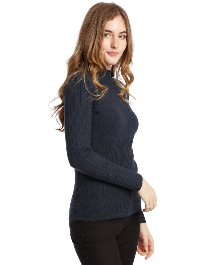 High Neck Ribbed Jumper image 2
