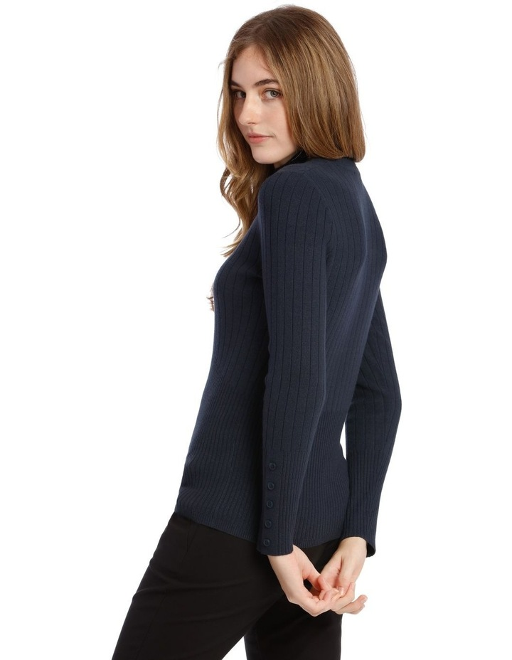 High Neck Ribbed Jumper image 3