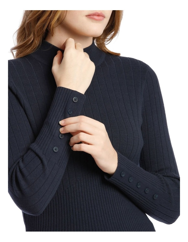 High Neck Ribbed Jumper image 4