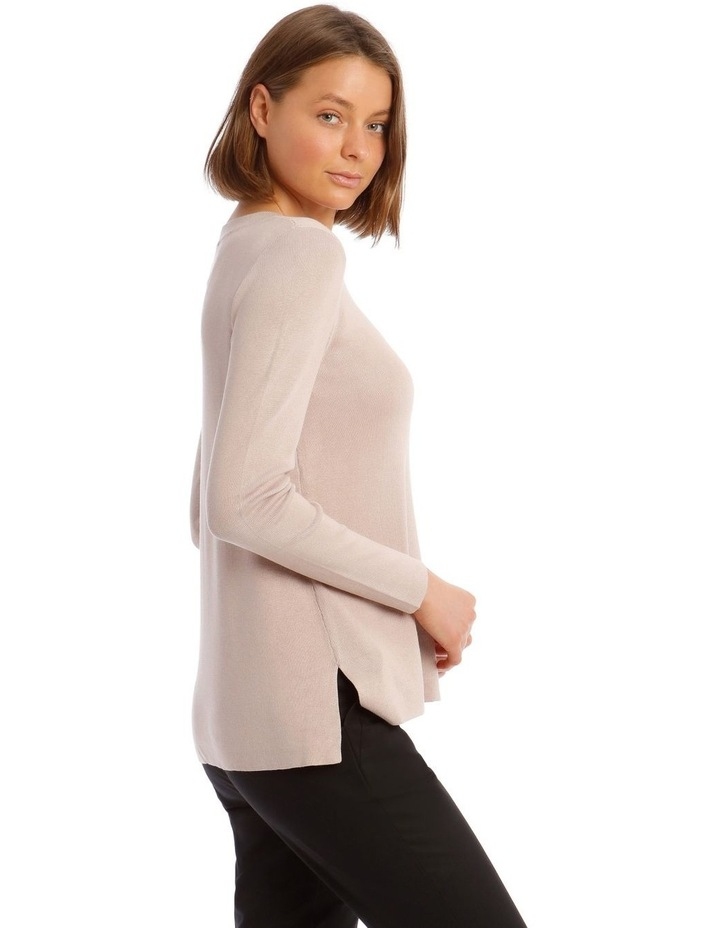 Stepped Hem Jumper image 2