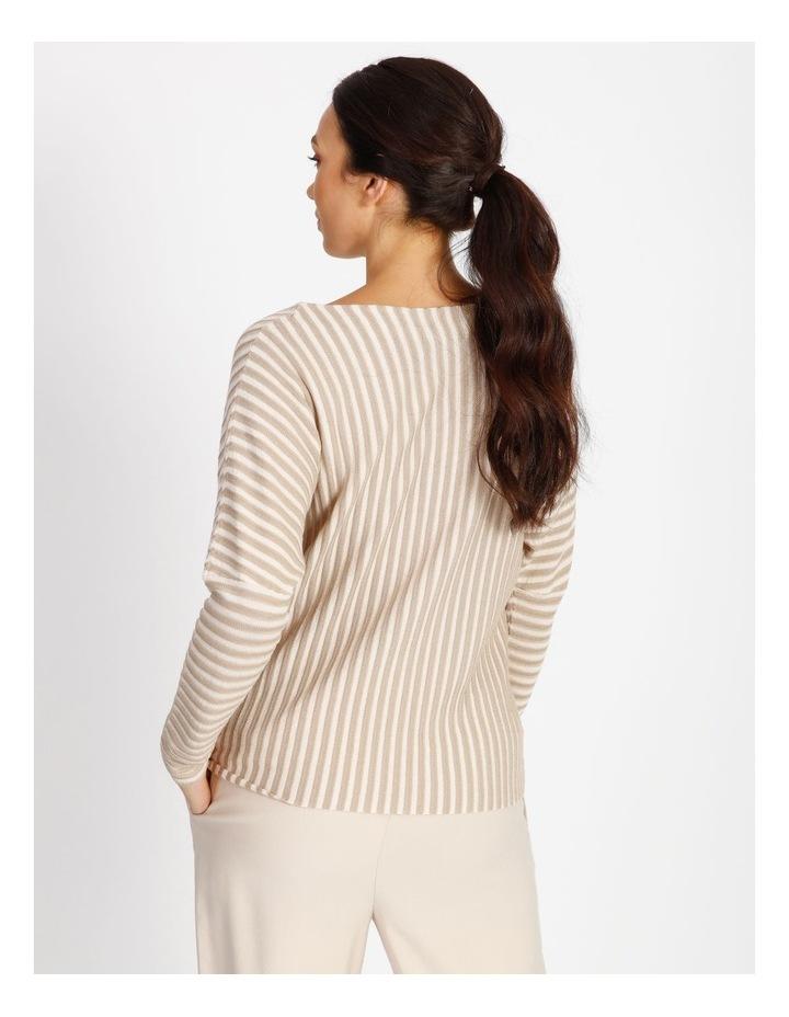 Stripe Stitched Knit image 3
