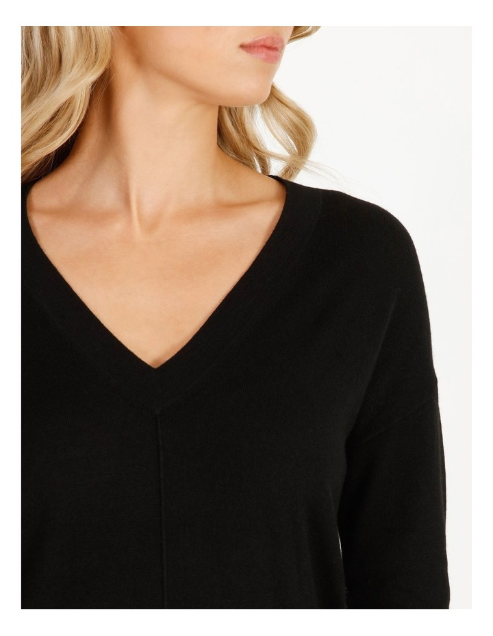 Merino Wool V-Neck Jumper image 5