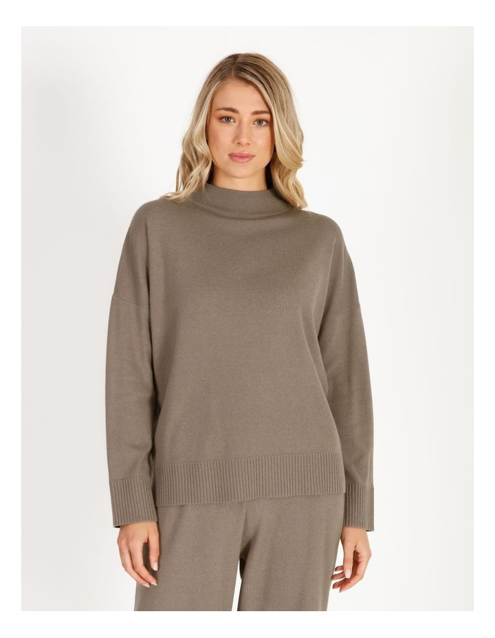 Grown-On Neck Relaxed Jumper image 1
