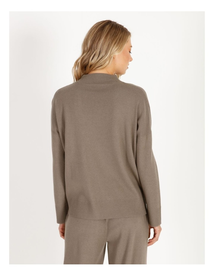 Grown-On Neck Relaxed Jumper image 3