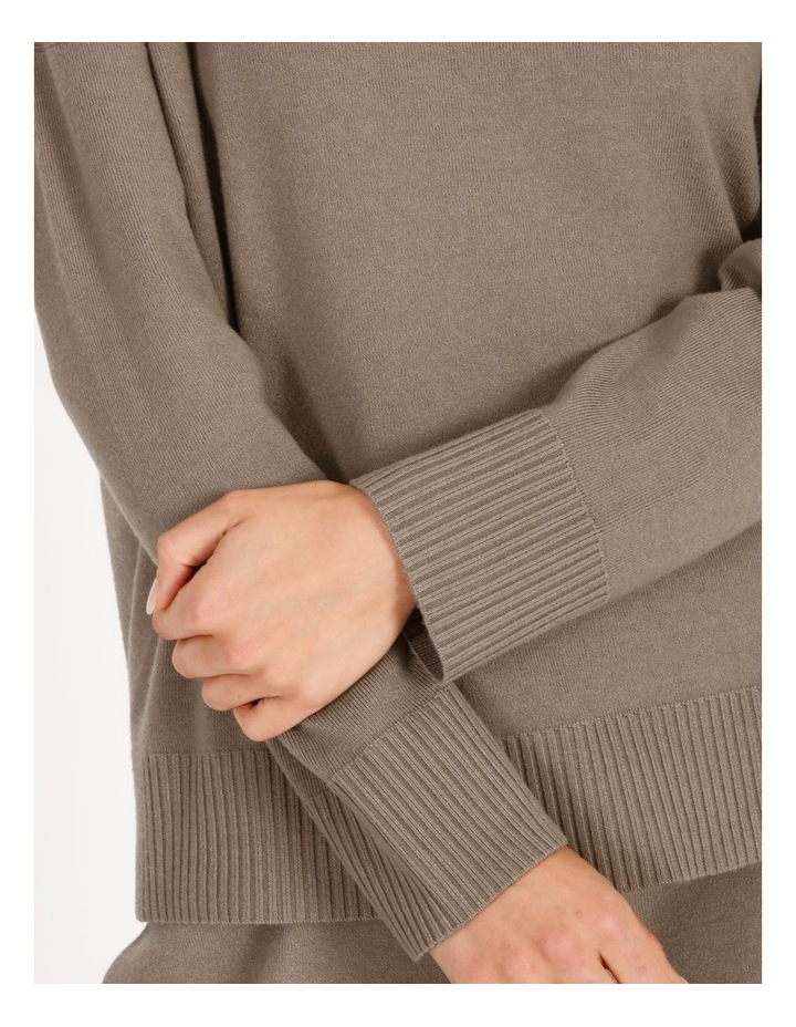 Grown-On Neck Relaxed Jumper image 4
