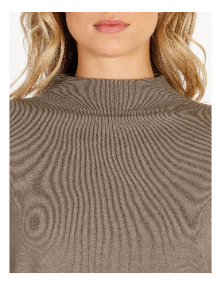Grown-On Neck Relaxed Jumper image 5
