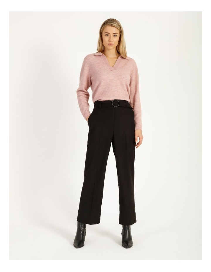 Placket Front Collared Knit image 3