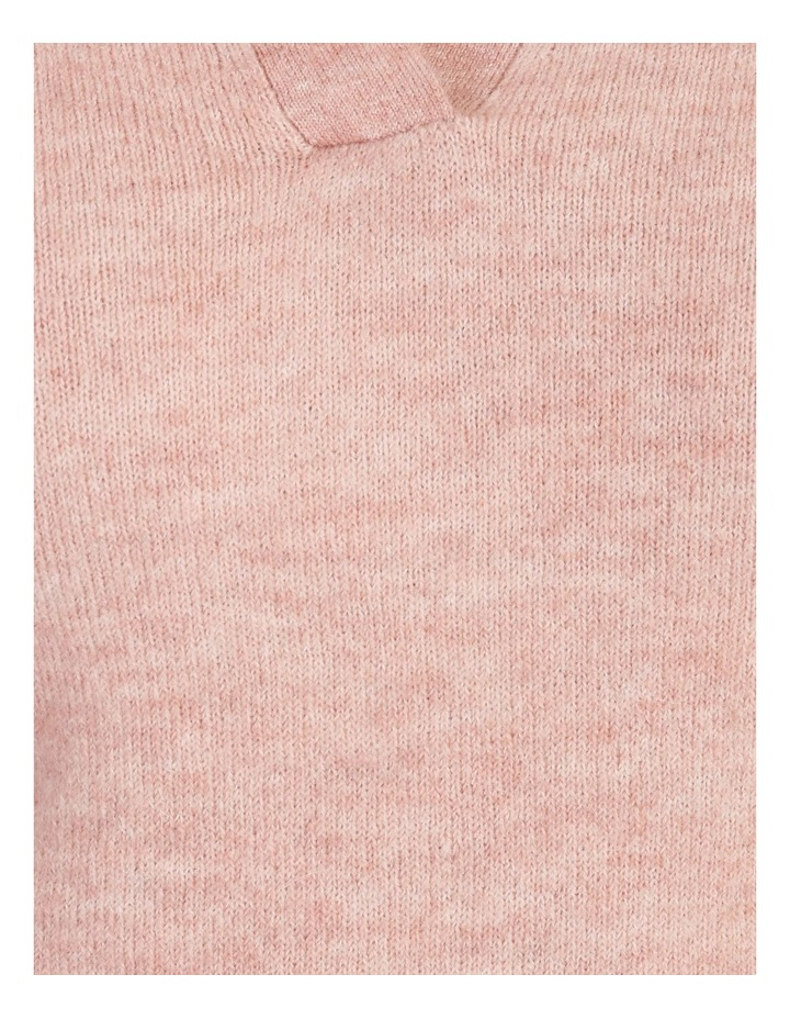 Placket Front Collared Knit image 7