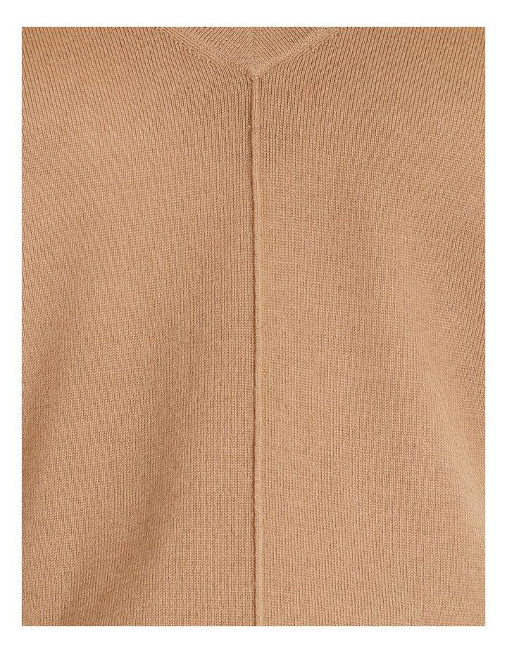 Merino Wool V Neck Jumper image 5