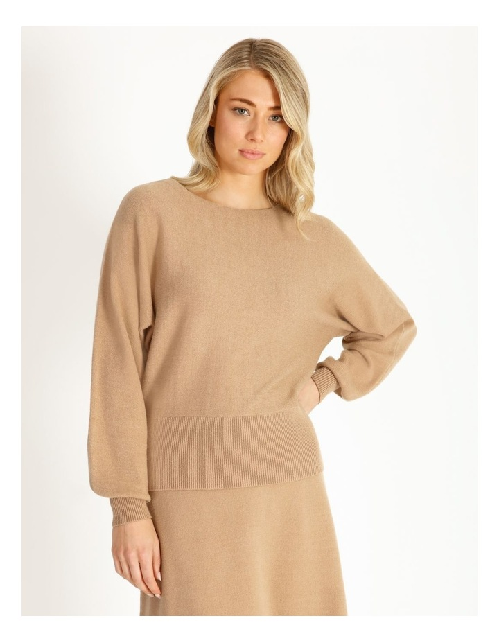 Cocoon Sleeve Soft Sweater image 1