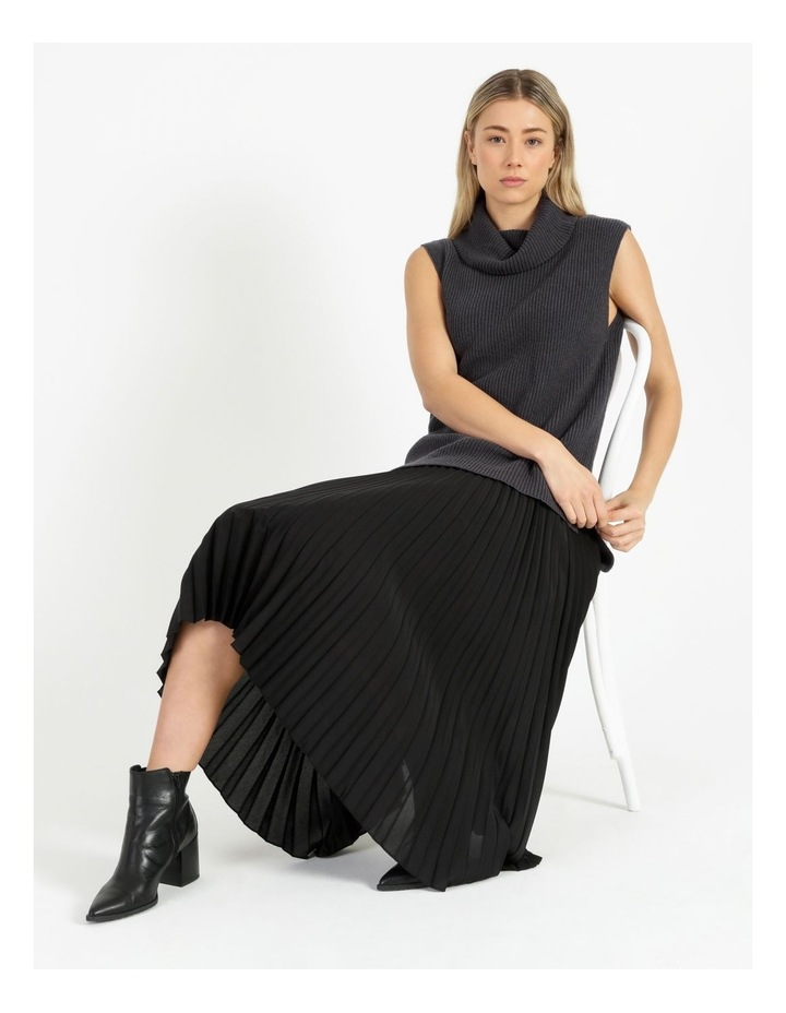 Roll Neck Knitted Vest image 2