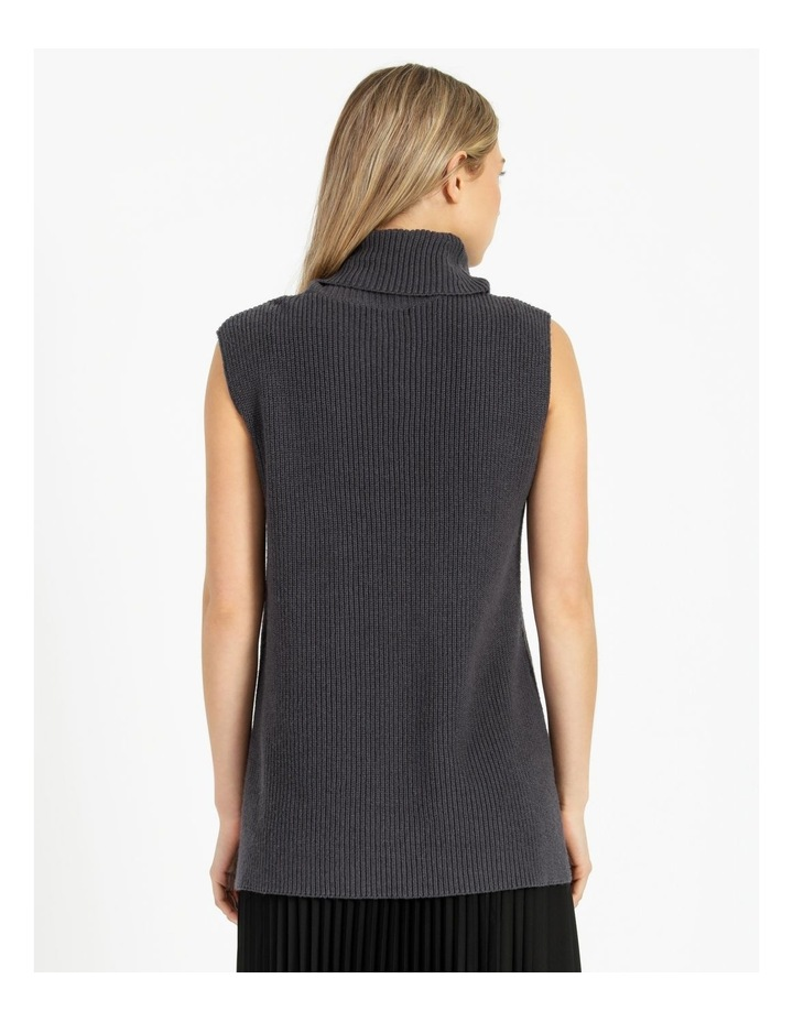 Roll Neck Knitted Vest image 3