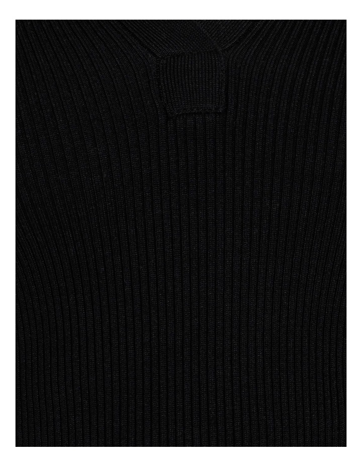 Ribbed Polo Neck Jumper image 6