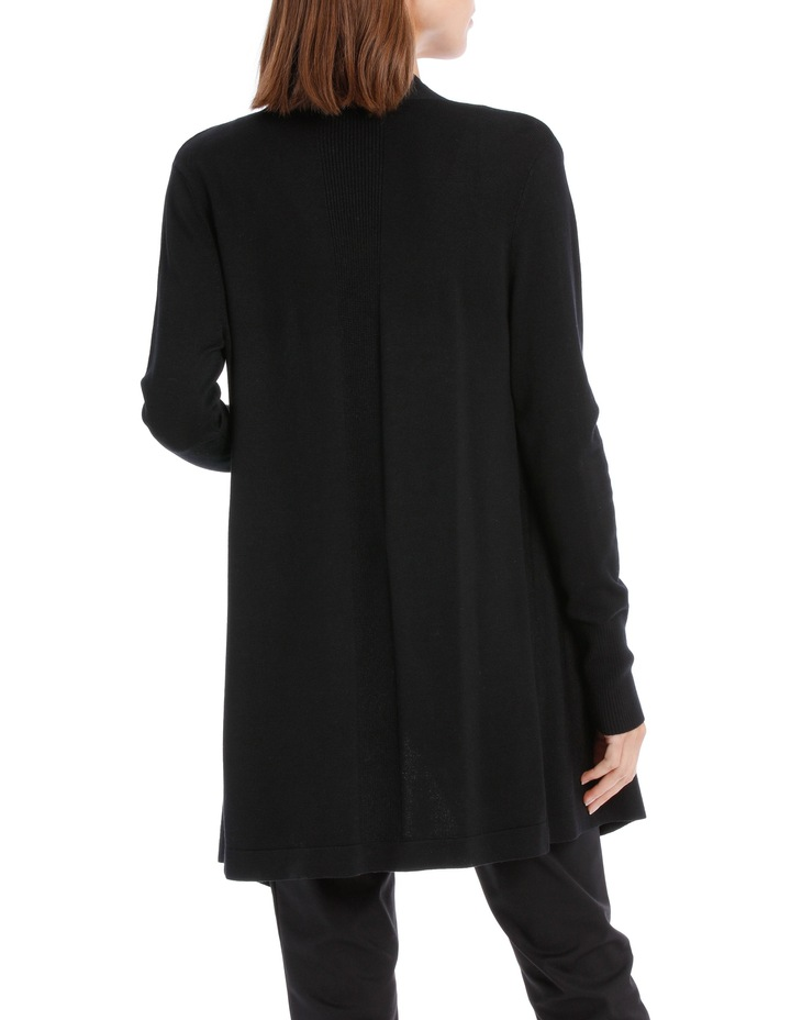 Essential Drape Front Cardigan image 3