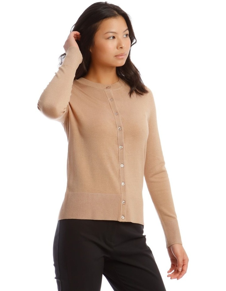Short Button Though Cardi image 1