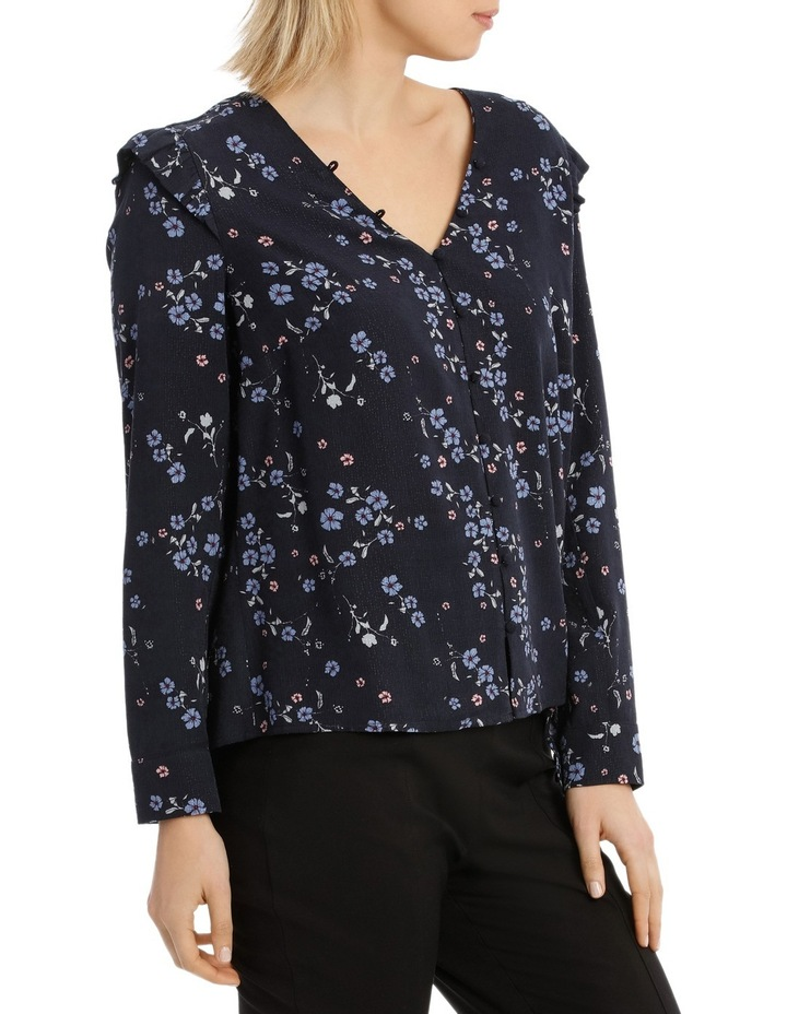 Cherry Blossom Button Front Jacquard Shirt image 2