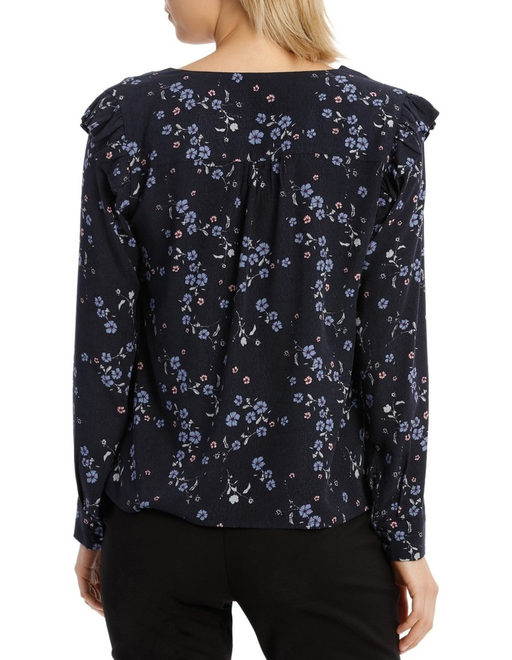 Cherry Blossom Button Front Jacquard Shirt image 3