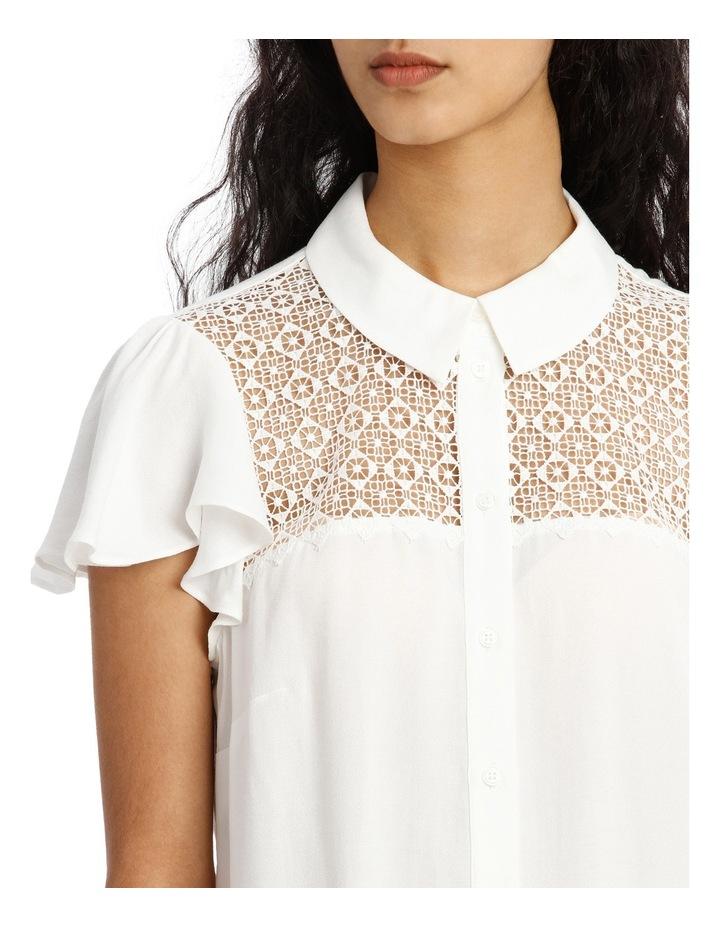 Cutwork Button Down Shirt image 4