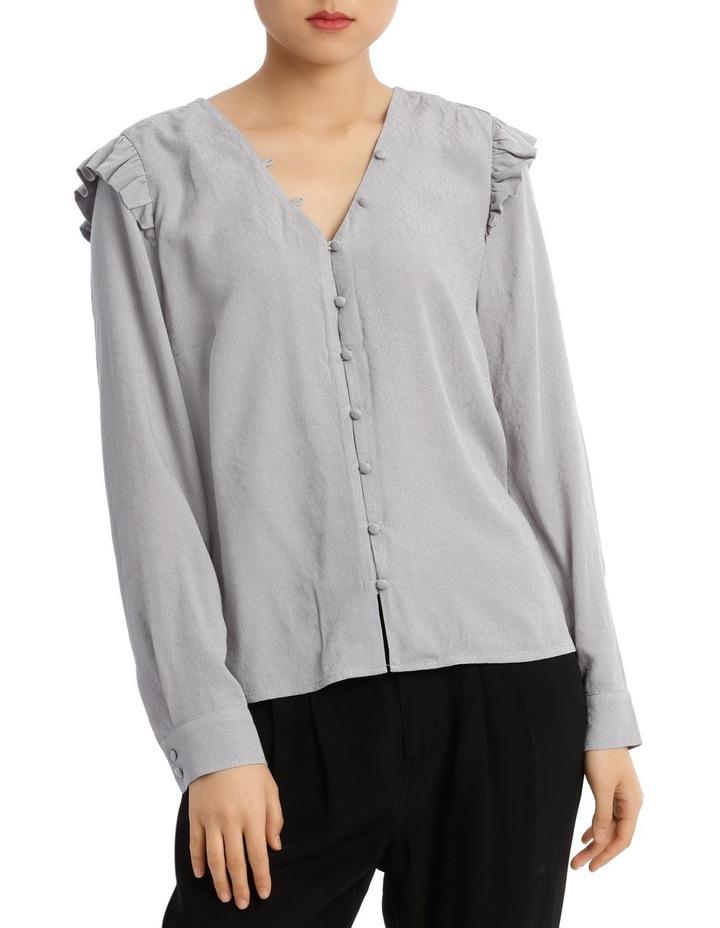 Button Front Jacquard Shirt image 1