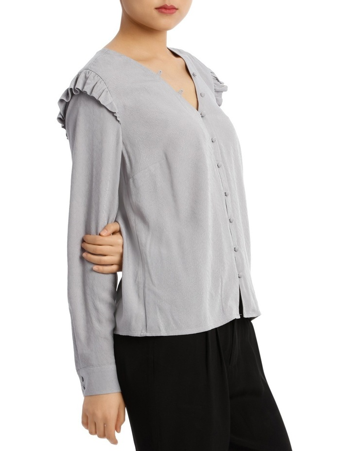Button Front Jacquard Shirt image 2