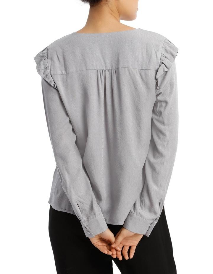 Button Front Jacquard Shirt image 3