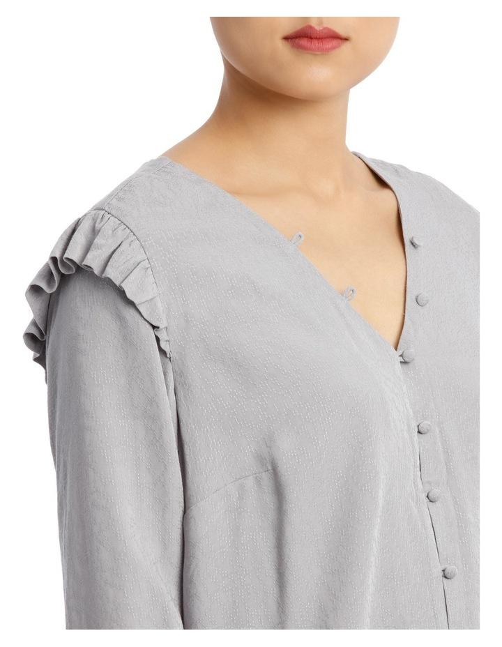 Button Front Jacquard Shirt image 4