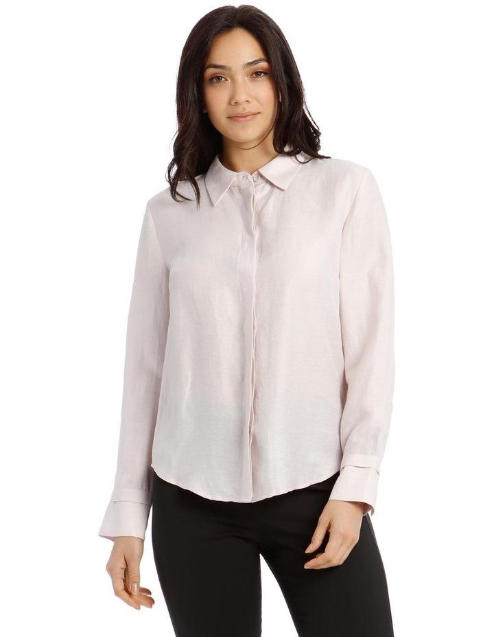 Linen Shirt - Mauve image 1