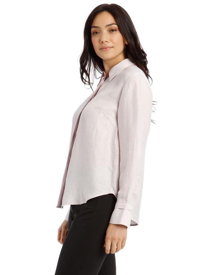 Linen Shirt - Mauve image 2
