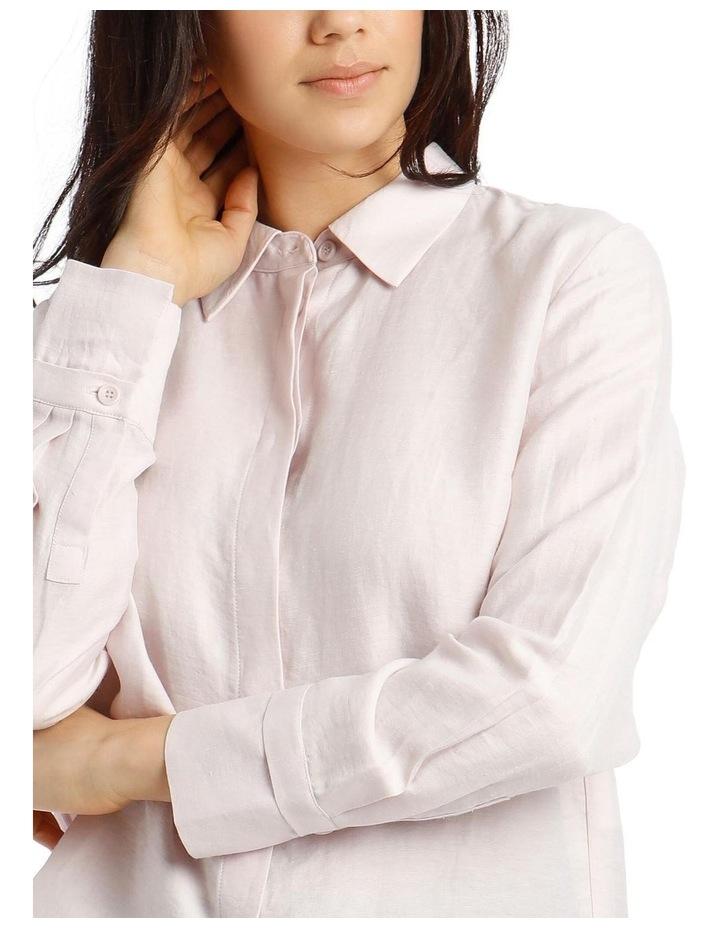 Linen Shirt - Mauve image 4