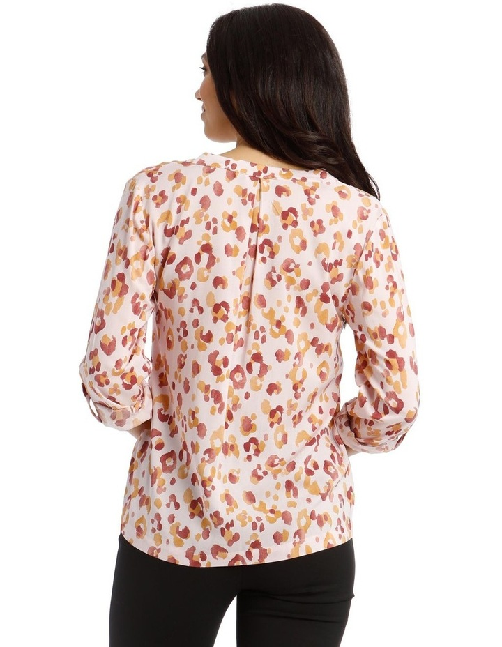Collarless Double Pocket Shirt image 3