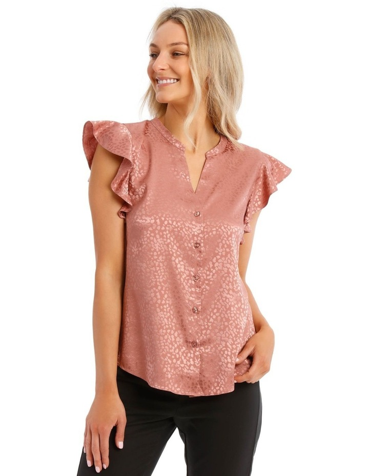 Jacquard Short Sleeve Shirt image 1