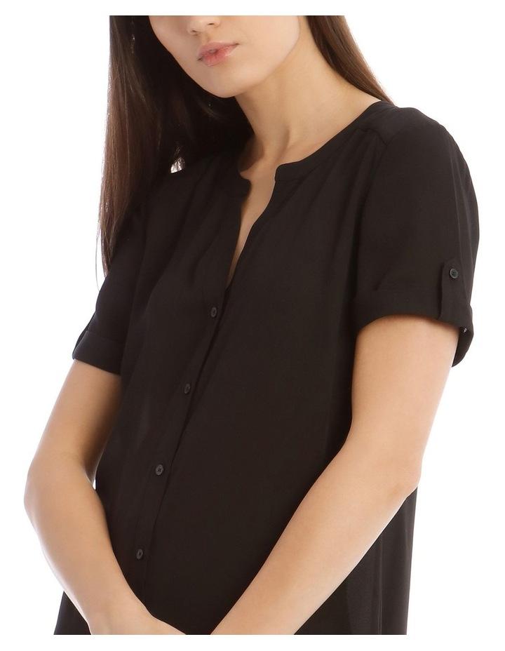 Button Grown Sleeve Shirt image 4