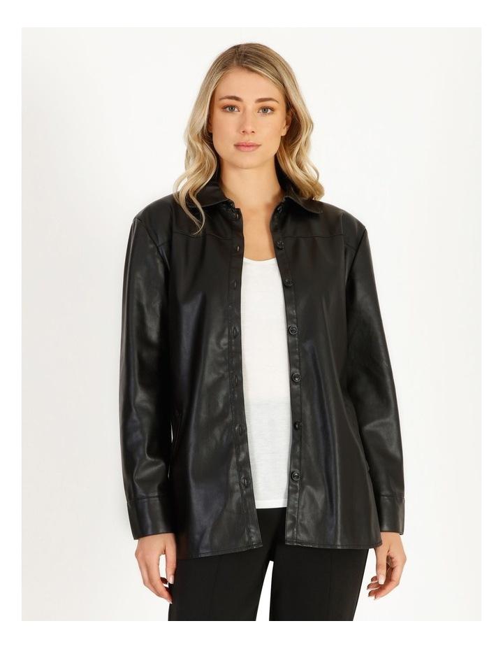 Vegan Leather Shirt image 1