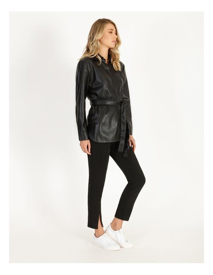 Vegan Leather Shirt image 2
