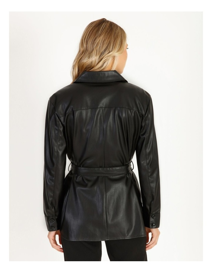Vegan Leather Shirt image 3